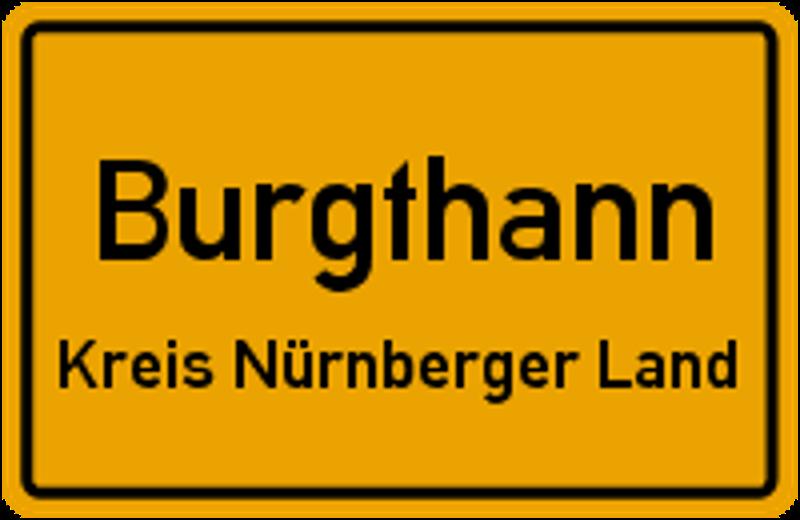 Ortschild Burgthann