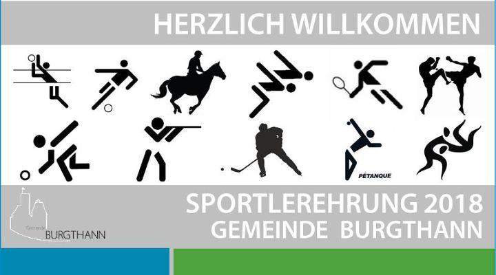 Sportlerehrung 2018