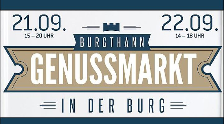 Genussmarkt in der Burg